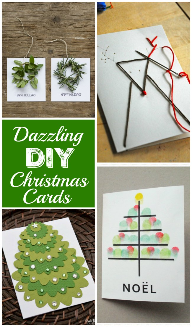 Dazzling DIY Christmas Cards for that special homemade touch!