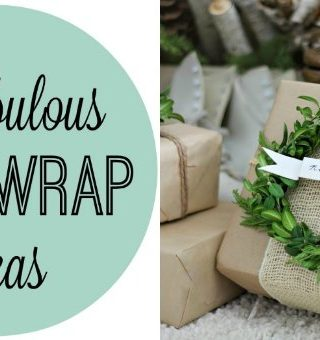 Fun Gift-Wrapping Ideas