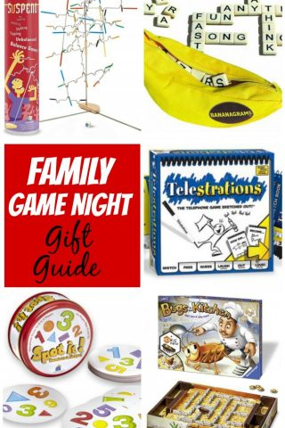 Use this family game night gift guide for some fabulous family christmas gift ideas!