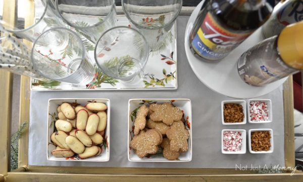 How to create a holiday Italian soda bar; and cookies