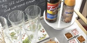 How to create a holiday Italian soda bar;