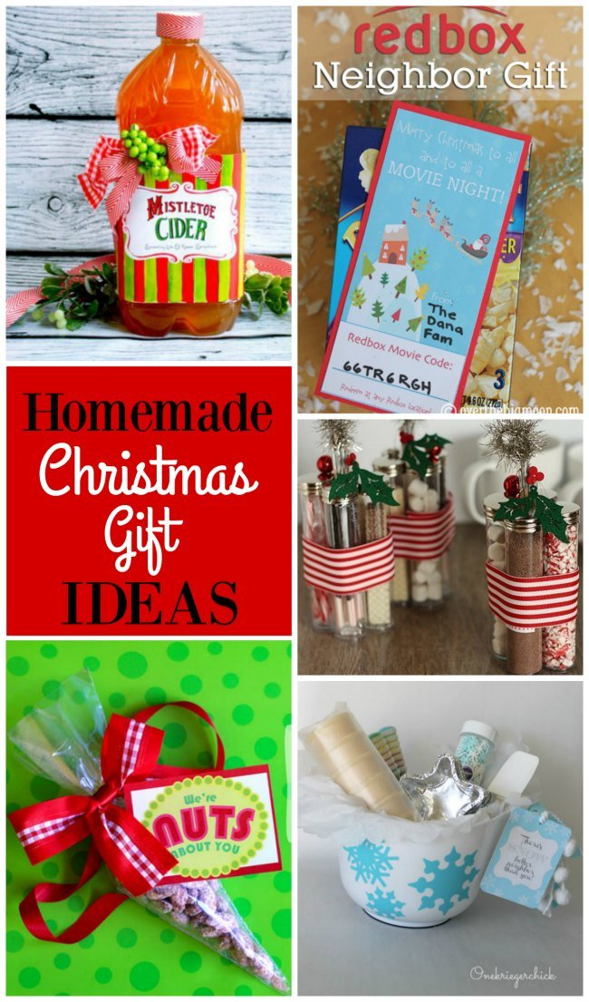 Homemade Christmas Gift Idea Roundup - Design Dazzle