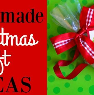 Homemade Christmas Gift Idea Roundup