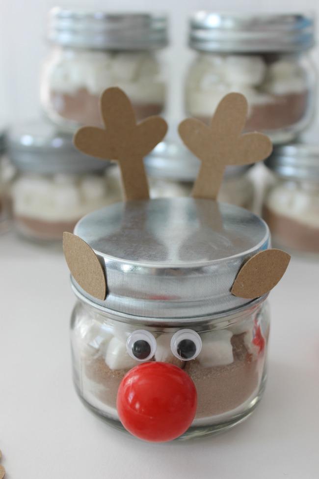 hot cocoa reindeer