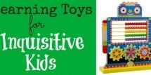 Learning Toys for Inquisitive Kids