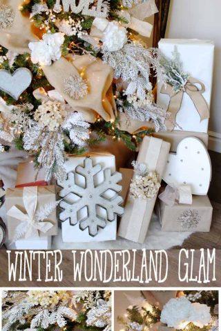 Winter Wonderland Glam Christmas Tree – Michaels Dream Tree Challenge