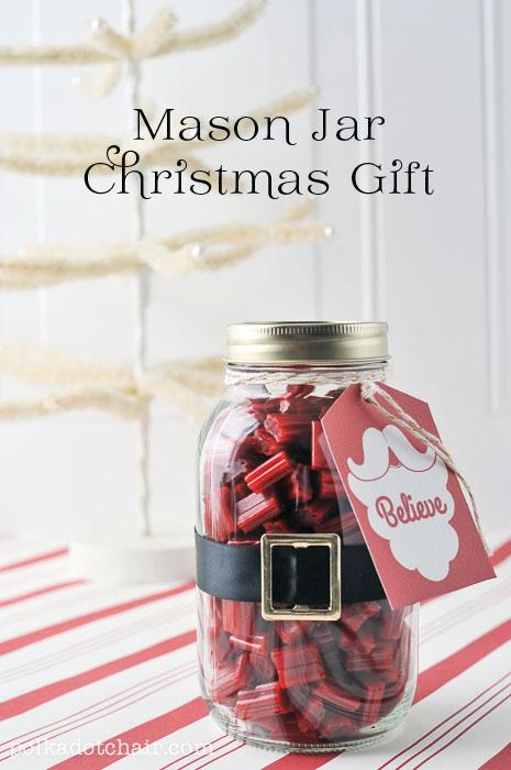 Mason Jar Christmas Gift!