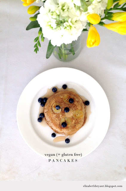 Vegan Gluten Free Pancakes! Deliciously healthy!