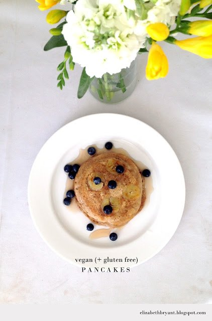 Vegan Gluten Free Pancakes! Deliciously healthy!