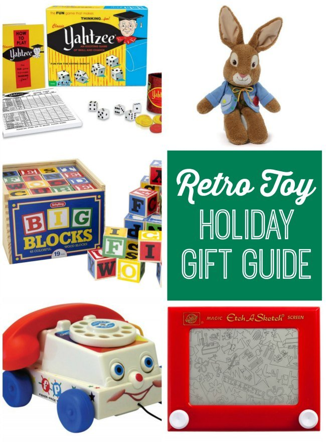 Check out this retro toy holiday gift guide for lots of fun gift ideas!
