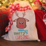 Simple And Easy To Make Santa Sacks!