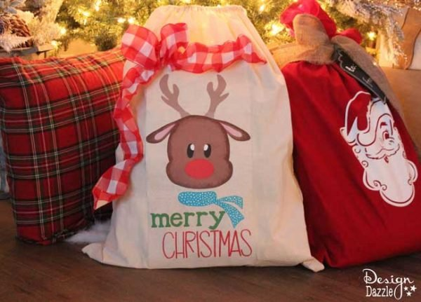 Simplify Christmas with Santa Sacks. Easy to create and the kids LOVE them!