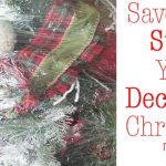 Save Time and Store Your Decorated Christmas Tree!