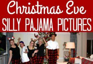 Christmas silly PJ pics