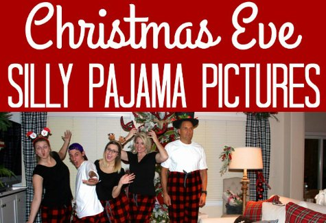 Christmas silly PJ pics