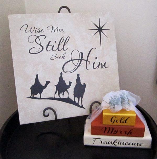 christmas ideas for kids - Wise Men Still Seek Him
