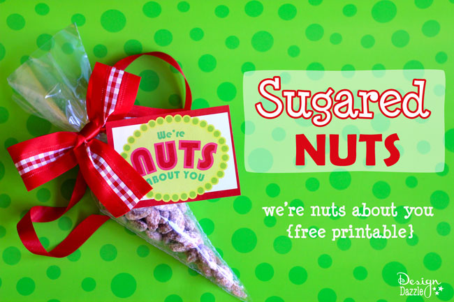 Homemade sugared nuts for Christmas Gifts this season!