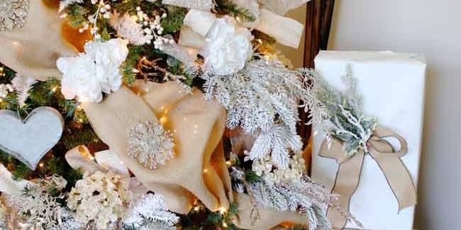 Winter Wonderland Christmas Tree by Toni Roberts of Design Dazzle. Michaels Makers Dream Tree Challenge.