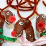 Giant DIY Reindeer and Santa Candy-filled Canes