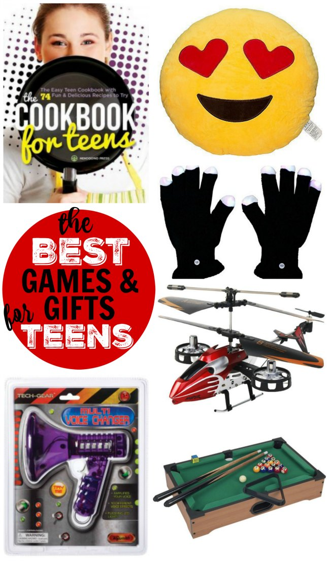The BEST Christmas gift ideas & games for teens!