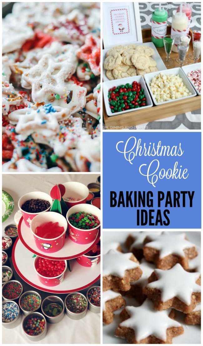Christmas Cookie Baking Party Ideas To Make Baking More Fun And Less