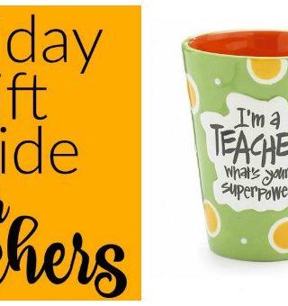 Teacher gift guide