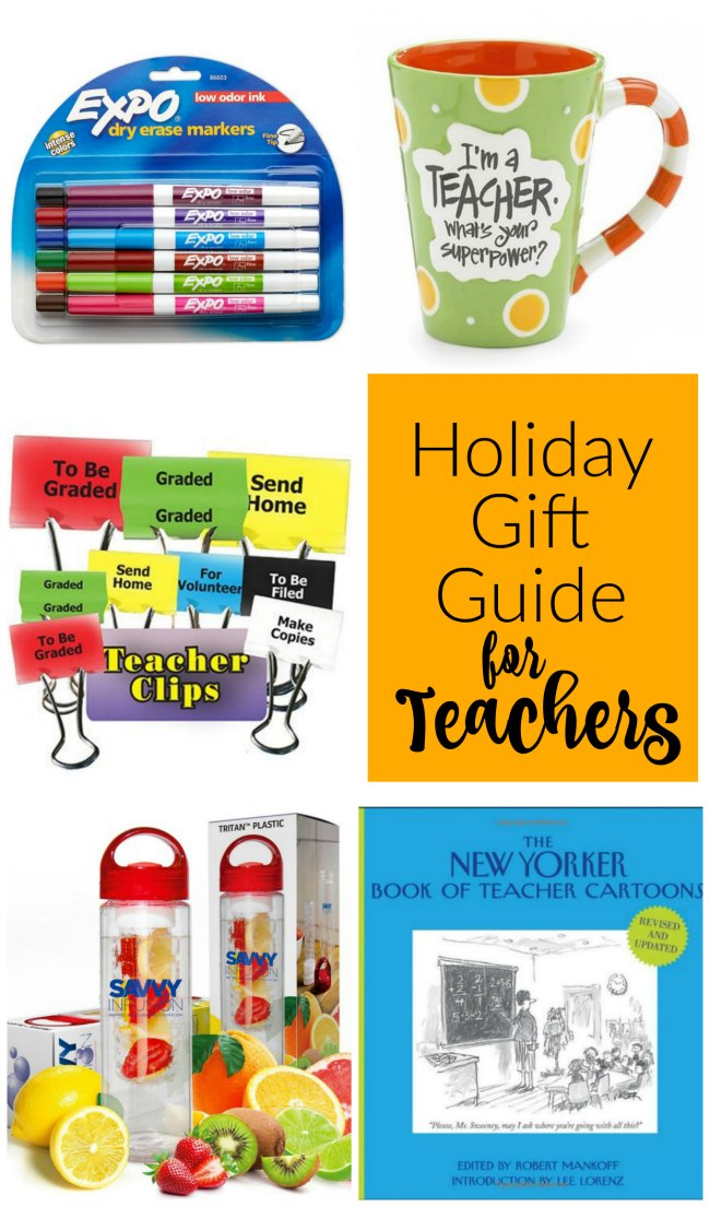 Fabulous holiday gift guide for our favorite Teachers!