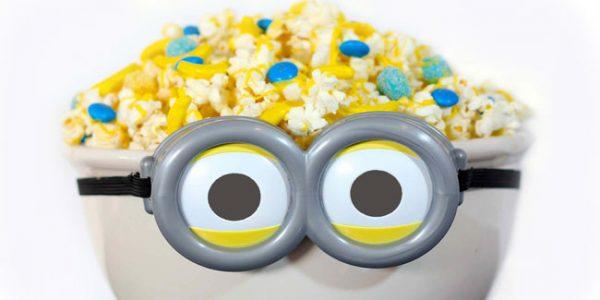 Minion Family Movie Night with 5 minute snacks. Design Dazzle