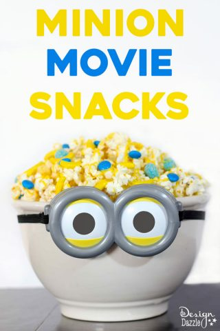 5 Minute Minion Movie Snacks