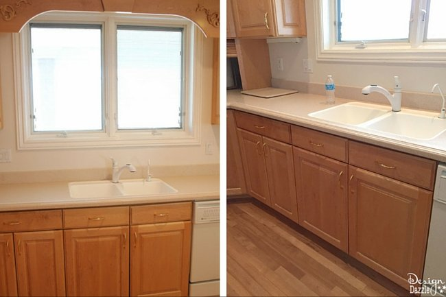 Check Out My Kitchen Remodel Before Pictures! See How I Transformed This  Dated Kitchen Into