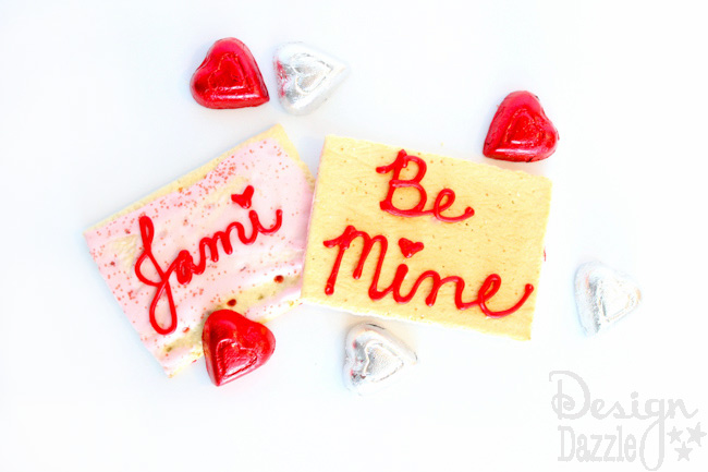 Edible Pop Tart Valentine's