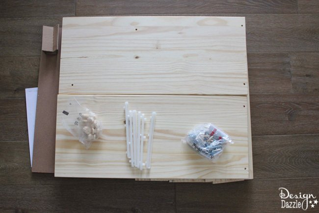 IKEA Rast Hack ribbon organizer by Design Dazzle