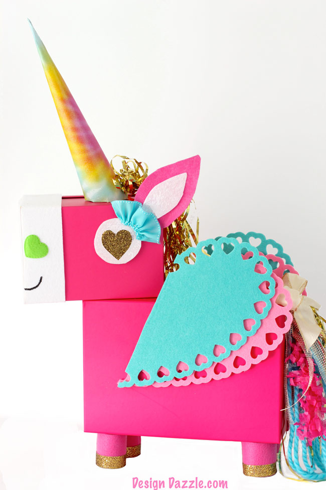 A Few Simple Steps For A Unicorn Valentine Card Box That Your Little Girl  Is Sure To Remember!