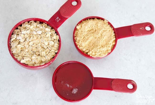 Peanut Butter Oatmeal Energy Balls recipe