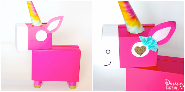 Unicorn Valentine Card Box Design Dazzle – How to Make Your Own Valentines Card