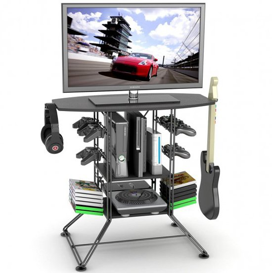 game and TV stand
