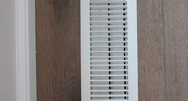 Clean your ceiling and floor vents in the dishwasher!