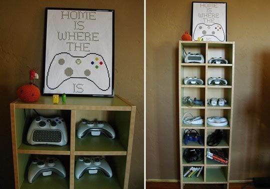Genial Game Controller Hutch