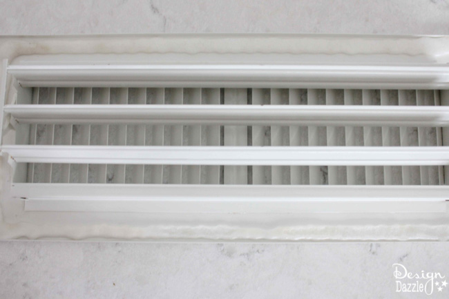 Sharing tips on how to clean your floor and ceiling vents in the dishwasher. This idea is so QUICK and EASY!!!
