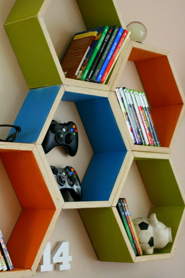 Etonnant Honeycomb Shelving