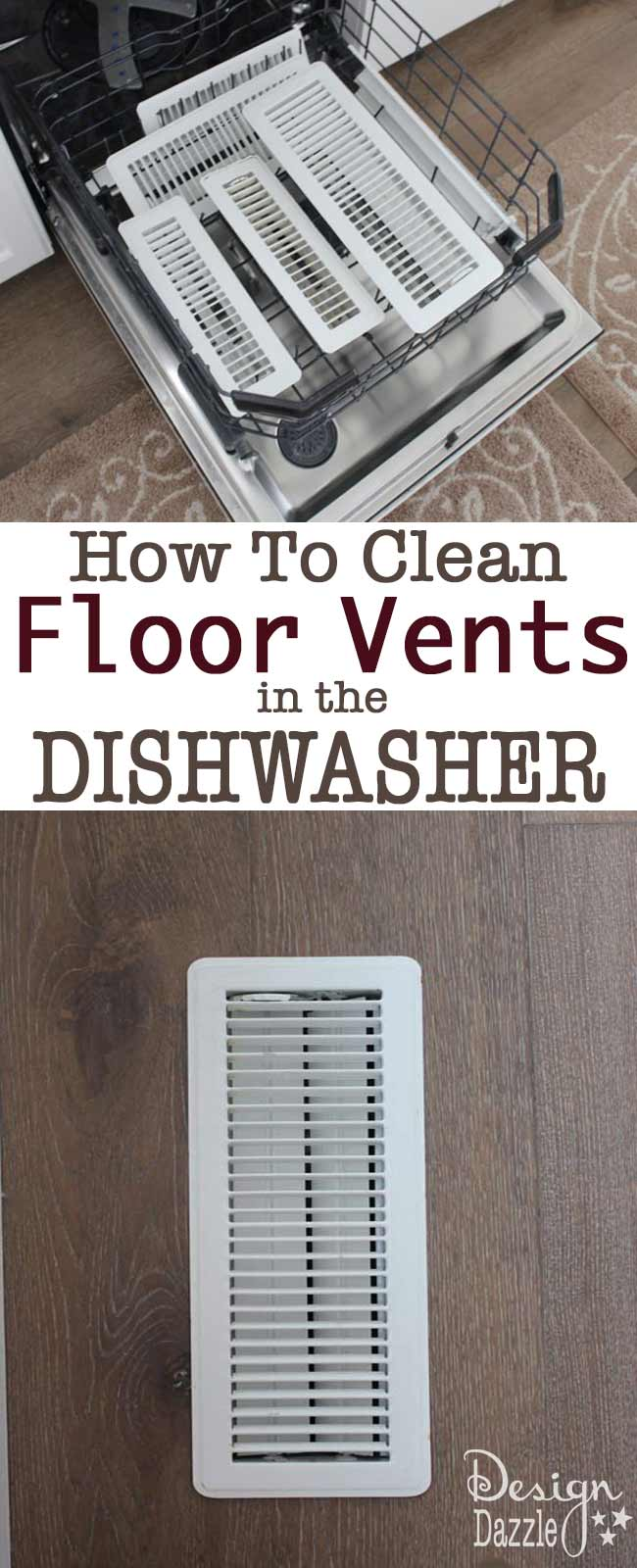 How To Clean Floor And Ceiling Vents   In The Dishwasher. How To Clean Floor And Ceiling Vents   In The Dishwasher    Design