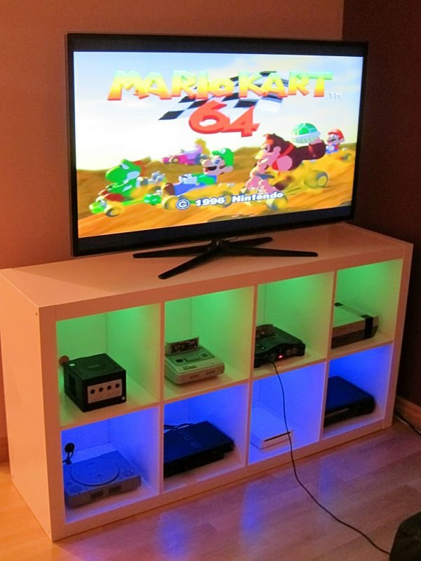 Nice Ikea Hack For Gaming Storage