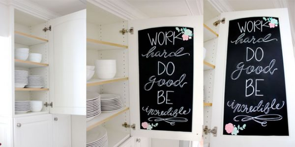 Turn the inside of your cupboards into beautiful art! Design Dazzle