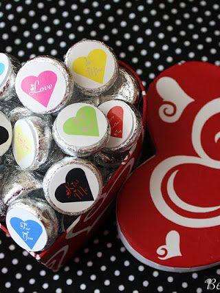 Valentine Kiss Stickers
