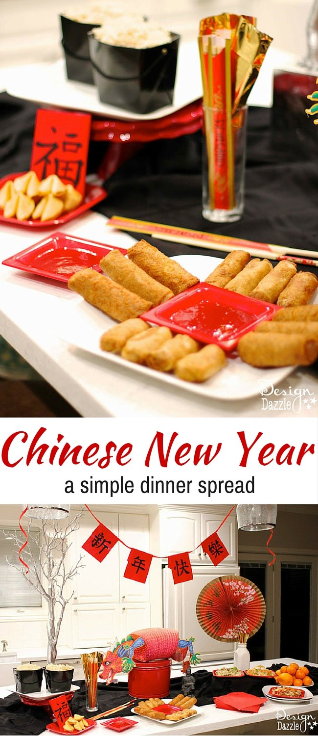 A Simple Chinese New Year Dinner with Tai Pei