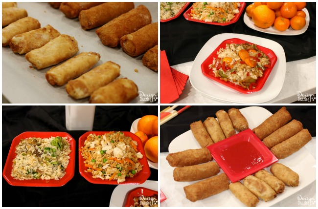 A simple chinese new year dinner with tai pei simple chinese new year food designdazzle forumfinder Choice Image