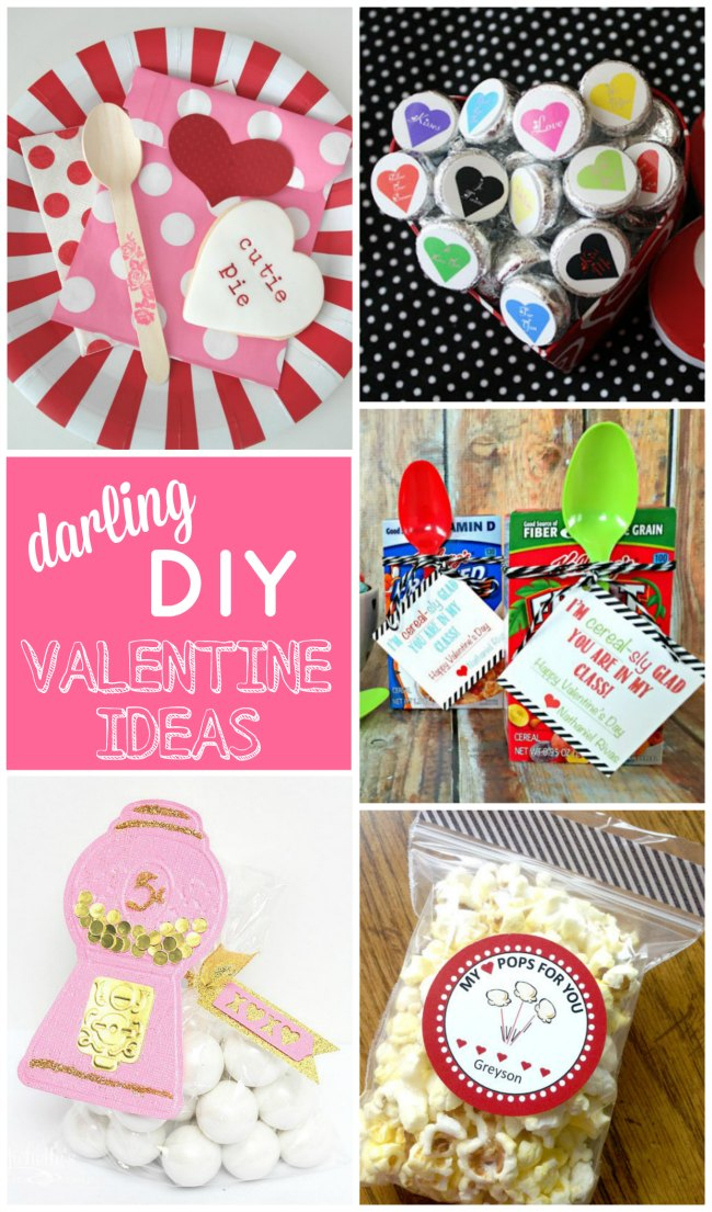 Darling DIY Valentine Ideas