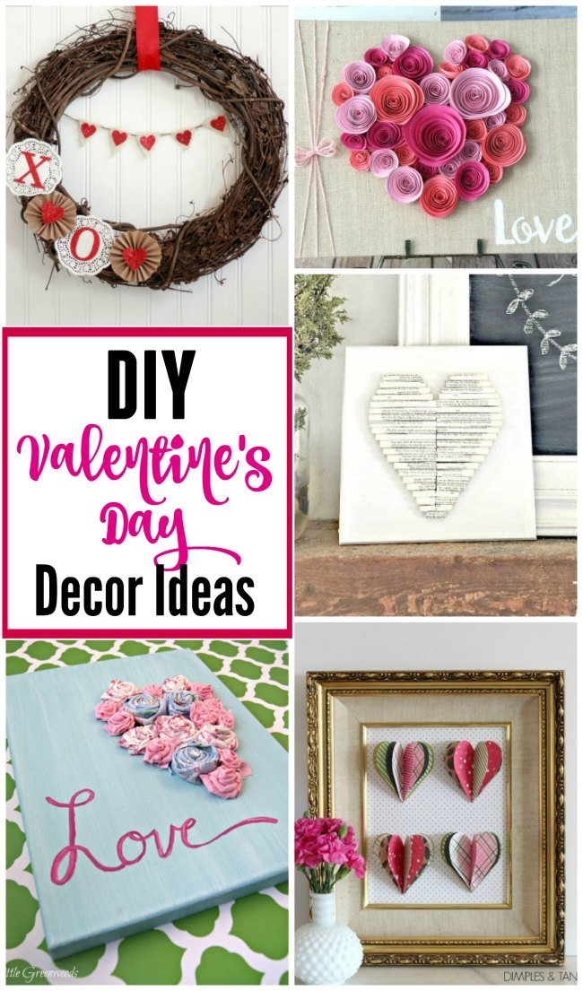 Fabulous DIY Valentine's Day decor ideas to make your home LOVEly this year!