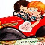 Vintage Car Valentine – You Auto Be My Valentine!
