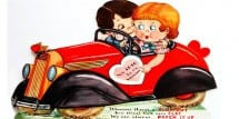 Vintage Valentine - You AUTO Be My Valentine - Design Dazzle